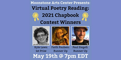 Virtual Poetry Reading: 2021 Moonstone Chapbook Contest Winners tickets
