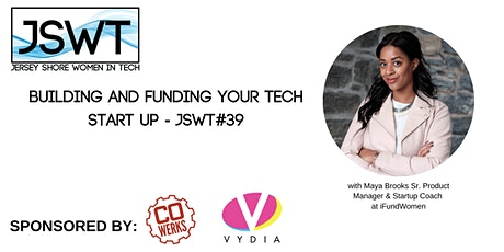 Building and Funding Your Tech Startup - JSWT #39 tickets