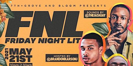 BLQQM presents FNL: Friday Night Lit tickets