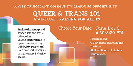 Queer & Trans 101: A Training for Allies billets