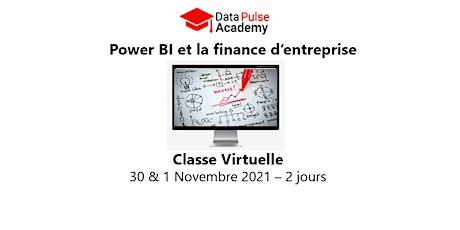 Power BI et la finance d'entreprise - 2 jours -30 & 1 Novembre 2021 billets