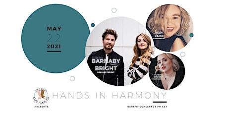 HANDS IN HARMONY benefit concert tickets