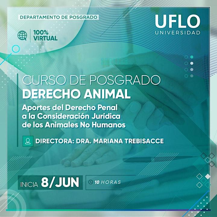 Imagen de Curso de Posgrado DERECHO ANIMAL