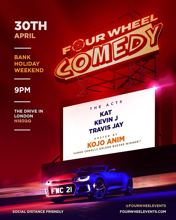 Four Wheel Comedy - Bank Hol Weekend image