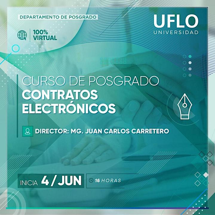 Imagen de Curso d Posgrado CONTRATOS ELECTRONICOS  Normativa Nacional e Internacional