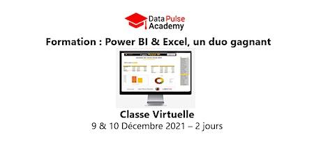 Power BI & Excel, un duo gagnant  - 2 jours - 9 & 10 Décembre 2021 billets
