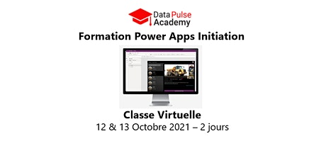 Power Apps Initiation - 2 jours - 12 & 13 Octobre 2021 billets