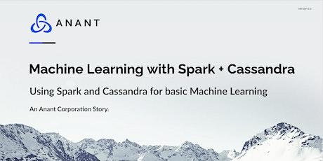 Apache Cassandra Lunch #50: Machine Learning with Spark + Cassandra biglietti
