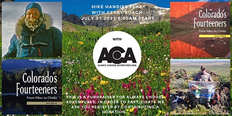 Hike a 14er with Gerry Roach! tickets