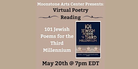 Virtual Poetry Reading: 101 Jewish Poems for the Third Millennium tickets