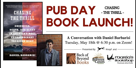 """Chasing the Thrill"" - National Pub Day Book Launch tickets"