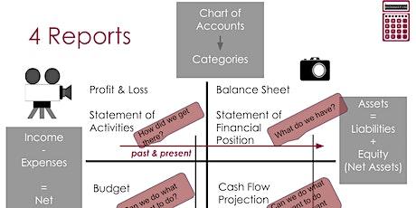 Understanding My Organization's Finances - June tickets