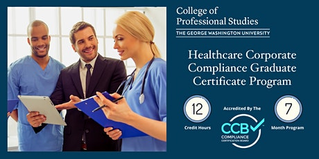 Healthcare Corporate Compliance Certificate Program Info Session via Webex tickets