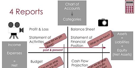 Understanding My Organization's Finances - May tickets