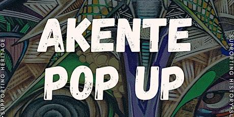 Akente Pop-up tickets