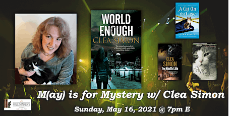 M(ay) is for Mystery w/ Clea Simon tickets