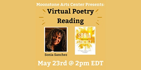 Virtual Poetry Reading: Sonia Sanchez tickets