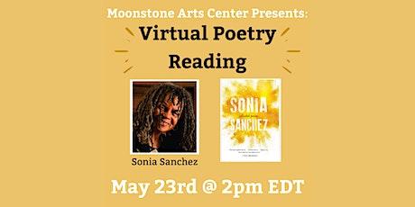 Virtual Poetry Reading: Sonia Sanchez tickets