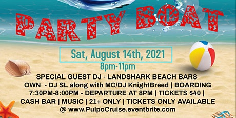 Atlantic City Party Boat - Summer Cruise tickets