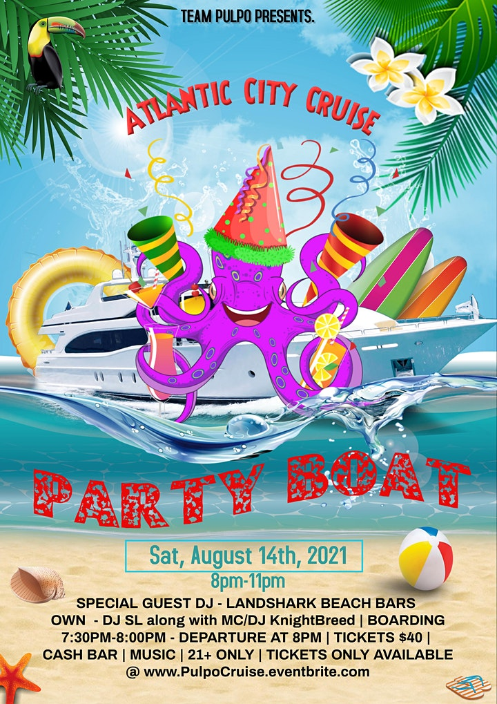 Atlantic City Party Boat - Summer Cruise image