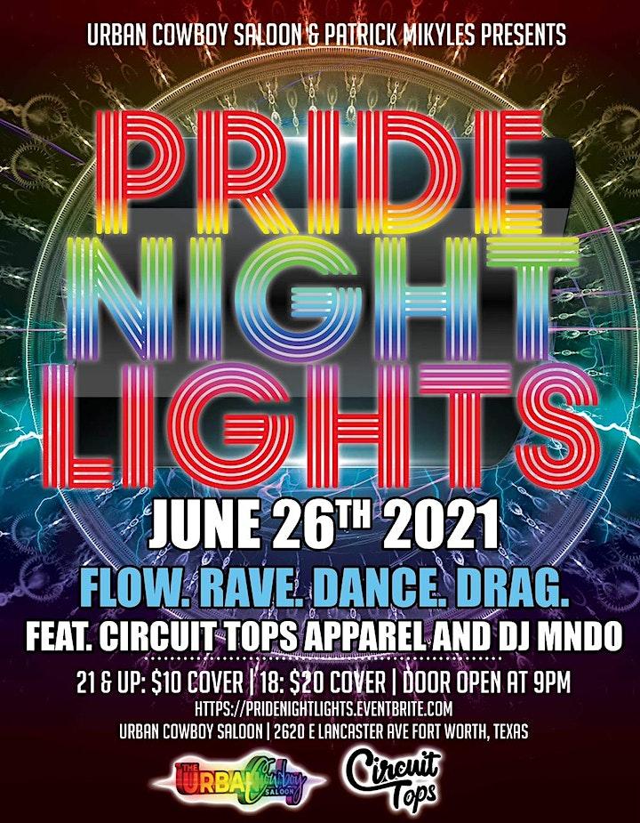 PRIDE Nights Neon Light Show image