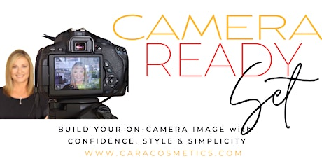 Build your on-camera confidence with style and simplicity - #zoom #webinars tickets