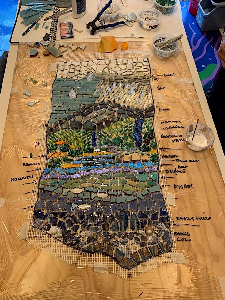 Purple Sage Lane Mosaic Workshop image