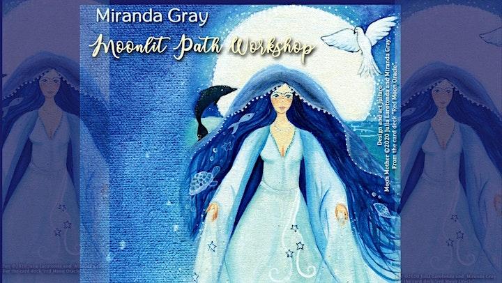 """Imagen de Taller """"el camino de  Moonlith """" con Miranda Gray"""