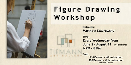 Figure Drawing Classes tickets