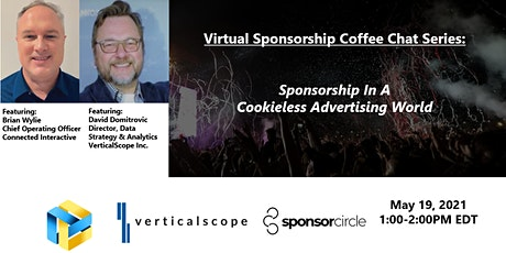 Virtual Coffee Chat - Sponsorship In A Cookieless Advertising World tickets