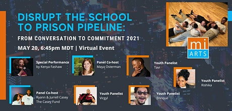DISRUPT the School to Prison Pipeline: From Conversation to Commitment 2021 tickets