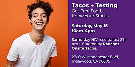 Tacos + Testing at SoCal Club tickets