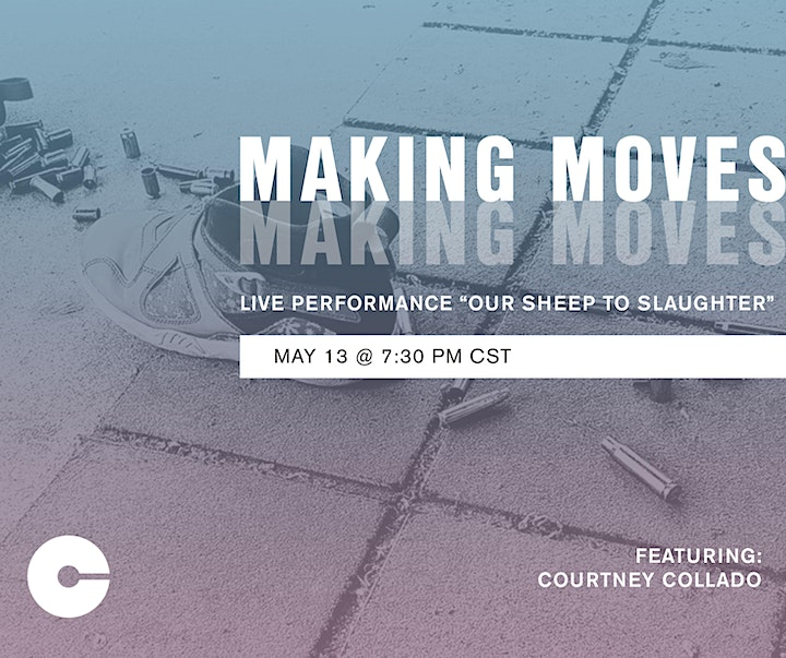Making Moves: Live Performance by Courtney Collado image