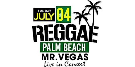REGGAE PALM BEACH tickets