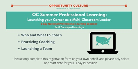 OC Summer Professional Learning: Launching Your Career as an MCL tickets