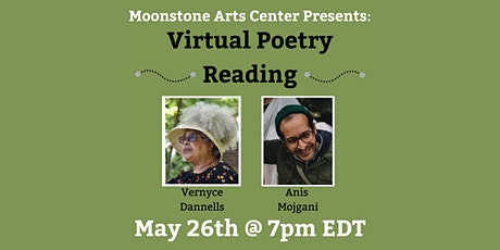 Virtual Poetry Reading: Vernyce Dannells and Anis Mojgani tickets