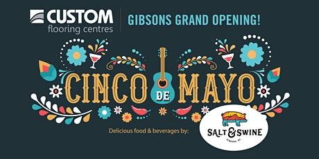 Custom Flooring Grand Opening Fiesta in Gibsons tickets