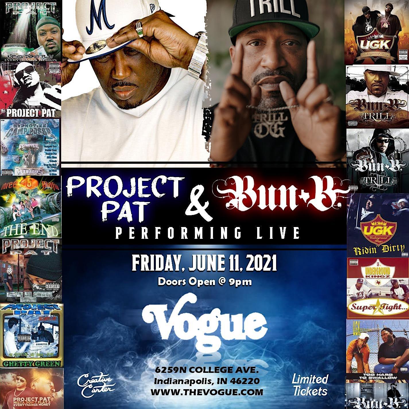 Bun B & Project Pat