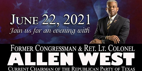 An Evening with Lt Col Allen West tickets