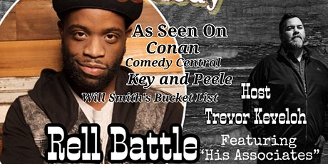 RELL BATTLE from Conan, Superior Donuts, Key and P tickets