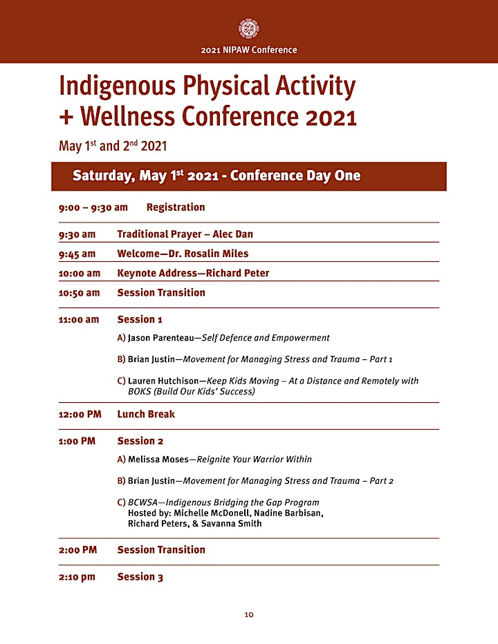 Virtual National Indigenous Physical Activity & Wellness Conference -IPACC image
