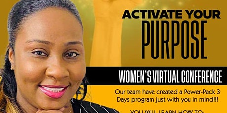 ACTIVATE YOUR PURPOSE tickets