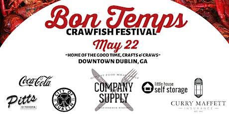 2021 Bon Temps Crawfish Festival tickets