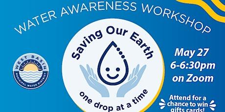 Water Efficiency Workshop - Water Awareness Month tickets