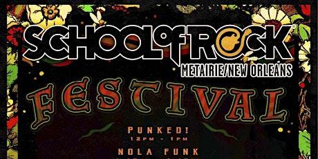 School of Rock Music Festival tickets