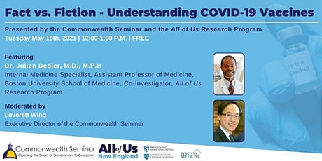 Fact vs. Fiction - Understanding COVID-19 Vaccines tickets