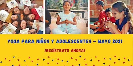 Yoga y meditación para adolescentes de 13+ años entradas