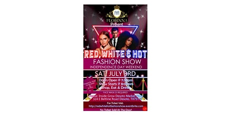 FLOBINNA Presents: Red, White & Hot Fashion Show tickets