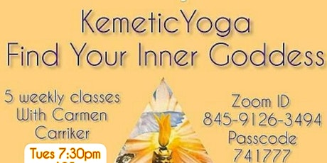 Kemetic Yoga Workshop tickets