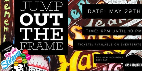Jump Out The Frame's Rip the Stigma Fundraiser Dinner tickets